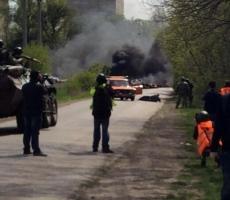 Украинские силовики разбомбили село Горловка