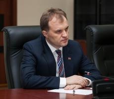 Евгений Шевчук провел расширенное заседание с Председателем и членами Правительства Приднестровья