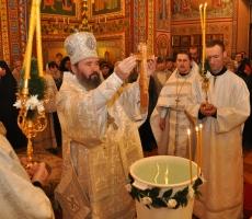 Евгений Шевчук поздравил Архиепископа Элистинского и Калмыцкого Юстиниана с Днем рождения