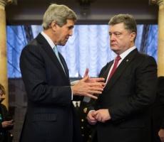 Накануне Джон Керри посетил Украину