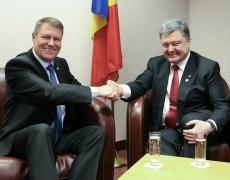 Петр Порошенко встретился с президентом Румынии в Брюсселе
