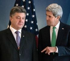 Петр Порошенко провел телефонные переговоры с Джоном Керрии