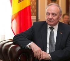 Президент Молдовы сегодня совершил официальный визит в Киев