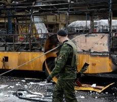 Столкновения между силовиками и ополченцами возобновились