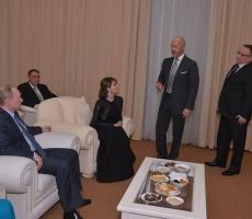 Владимир Путин посмотрел премьеру фильма «Батальонъ»