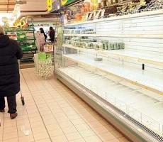 В магазинах Одессы исчезли продукты