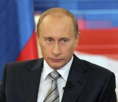 Владимир Путин принимает участие в расширенном заседании в МВД