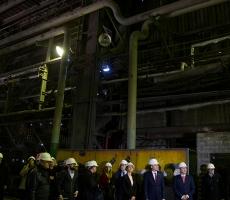 Приднестровский металлургический завод снова работает