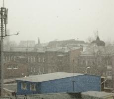 Приднестровье накрыл снег