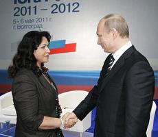 Владимир Путин поздравил Надежду Бабкину с Днем рождения