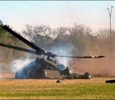 Военный вертолёт разбился под Киевом