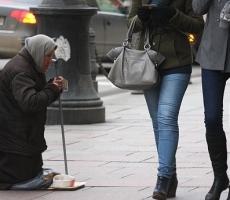 Бедность захлестнула Россию