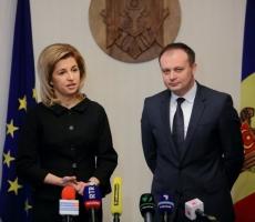 Спикер Молдовы впервые встретился с новоизбранным башканом Гагаузии