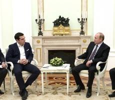 Владимир Путин укрепляет сотрудничество с Грецией