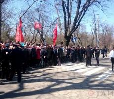 """В Одессе произошла стычка между """"куликовцами"""" и """"евромайдановцами"""""""