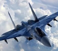 Су-27 напугал американский самолёт-разведчик