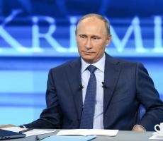 """Завтра состоится """"Прямая линия"""" с Владимиром Путиным"""