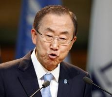 """Пан Ги Мун - """"за"""" размещение миротворческого контингента на Донбассе под эгидой ООН"""