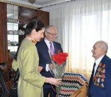 Российский посол поздравил ветеранов Приднестровья с приближающимся праздником Великой Победы