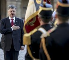 Петр Порошенко прибыл во Францию с официальным визитом