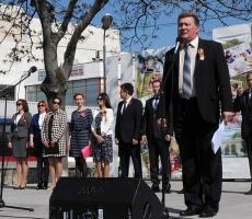 Сегодня в столице Приднестровья состоялся митинг, посвященный 1 мая
