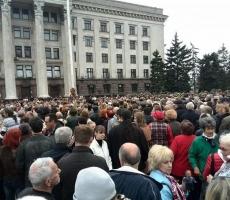 Масштаб траурной акции в Одессе превзошел прогнозы