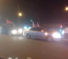 В Москве состоялся ночной автопробег в честь Дня Победы