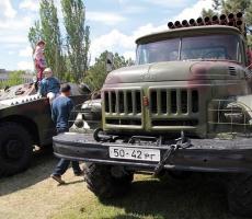 В Тирасполе прошла выставка военной техники (фото)