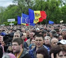 В Кишиневе усиливаются унионистские настроения