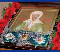 В Бендерах находится ковчег с мощами Святой Матроны