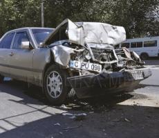 Страшная авария в Кишиневе: люди сгорели заживо