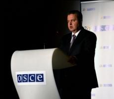 Дачич: Применение силы на Донбассе является неприемлемым