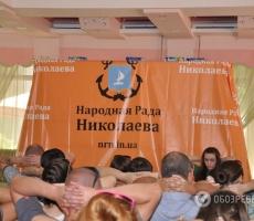 Лидер Народной Рады Николаева содержится в тяжелых условиях
