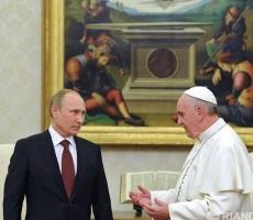 Владимир Путин встретится с Папой Римским для обсуждения военного конфликта на Украине