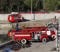 Закончилась ликвидация пожара на нефтебазе под Киевом