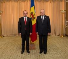 Президент Молдовы встретился с министром иностранных дел Румынии