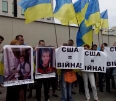Вчера в Киеве прошел массовый протестный митинг против войны на Донбассе