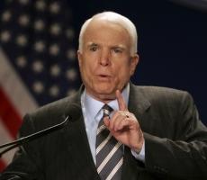 Маккейн недоволен правительством США
