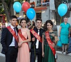 Выпускники Приднестровья попрощались со школой (ФОТО)