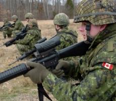 Украина ожидает прибытия военных из Канады