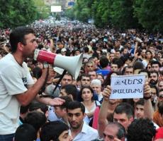 Ситуация в Ереване по-прежнему остается напряженной