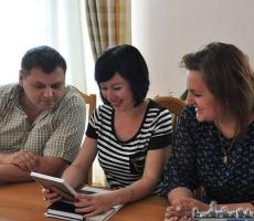 Замглавы администрации города Обнинска прибыла в Тирасполь