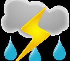 В Приднестровье ожидаются сильные дожди и шквалистый ветер