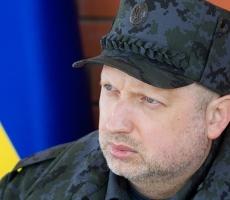 Турчинов протестировал систему электронного пропуска в зоне АТО