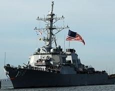 Ракетный эсминец США вторгся в Чёрное море