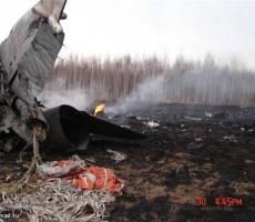 Разбился очередной российский военный самолёт