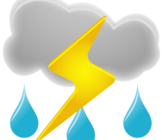 Завтра в Приднестровье ожидаются дожди и грозы