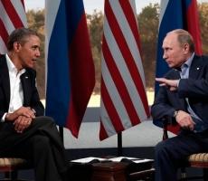 Барак Обама и Владимир Путин провели телефонные переговоры
