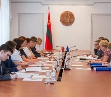 Делегация ЕС посетила Правительство Приднестровья