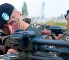 Широкино заняла украинская морская пехота